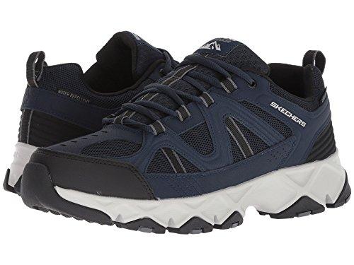 [SKECHERS(スケッチャーズ)] メンズスニーカー?ランニングシューズ?靴 Crossbar Navy/Black 9 (27cm) D - Medium