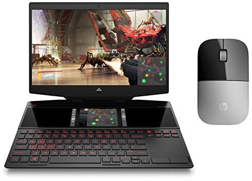 HP Omen X 2S Core i7 9th Gen 15.6-inch Dual Screen Gaming Laptop (16GB/1TB SSD/Win 10/8GB NVIDIA RTX 2080 Graphics) 15-dg0018TX & Z3700 Wireless Mouse