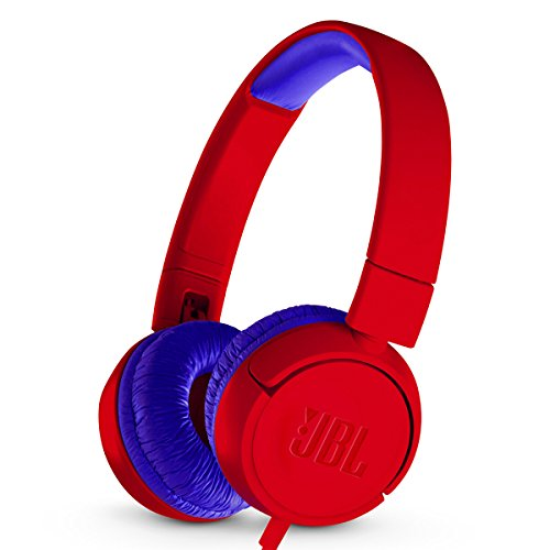 JBL JR 300 – On-Ear Headphones for Kids – Red