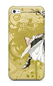 LJF phone case Audrill DpelcnO821kRnmL Protective Case For Iphone 5c(fate/stay Night)