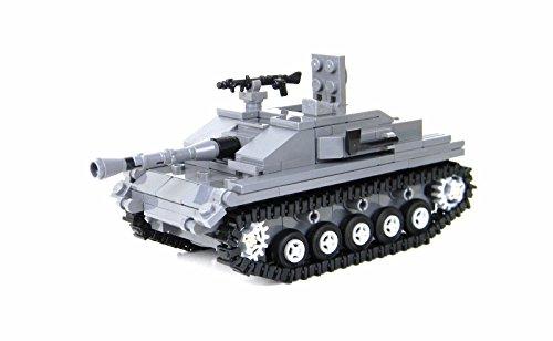 Battle Brick German StuG Tank Custom Set (Tank Lego)