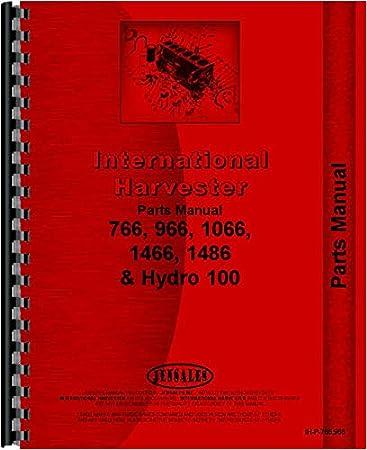 Amazon.com: Farmall 1066 Tractor Parts Manual (Chassis): Home ImprovementAmazon.com