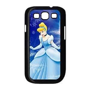 Cinderella Samsung Galaxy S3 9300 Cell Phone Case Black Blpvc