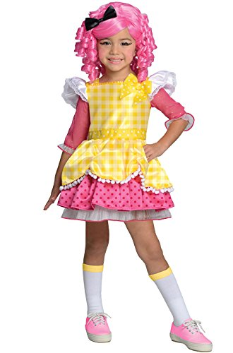 [Lalaloopsy Deluxe Crumbs Sugar Cookie Costume, Small] (Lalaloopsy Costumes For Girls)