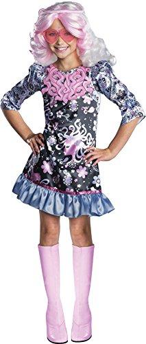 High Costume Monster Viperine Gorgon (Girls Halloween Costume- Monster High Viperine Gorgon Kids Costume Small)