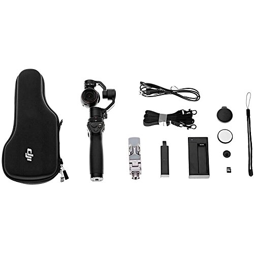 DJI Phantom 4 Quadcopter + Osmo Videographer Essential Travel Bundle