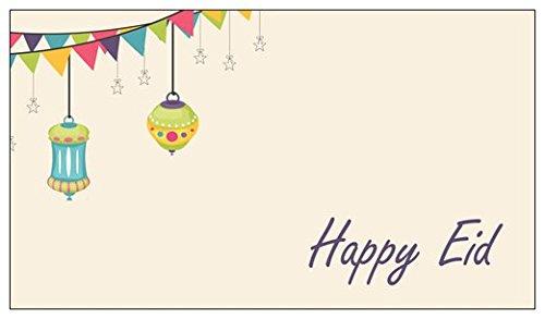Zaffron Eid Gift Tags (Eid Lanterns (10 - Tag Lantern