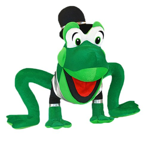 Green 8 Inches RetailSource Ltd 1-607 ToySource Topper the Frog Plush Collectible Toy