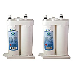 Tier1 Wf2cb Comparable For Frigidaire Replacement Refrigerator Water Filter Puresource2, Ngfc 2000, 1004-42-fa, 469911, 469916, Fc 100 2 Pack