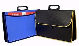 Max Fc Size Plastic Folder File Documents Bag With Handle & Lock - Choose Color