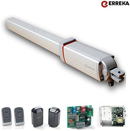 Motor Erreka KIT VULCAN D. para Puerta Batiente 1 hoja: Amazon.es: Bricolaje y herramientas