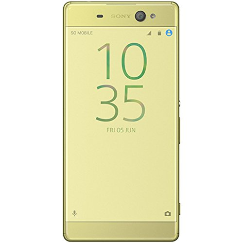 Sony Xperia XA Ultra unlocked smartphone,16GB Lime Gold (US Warranty)