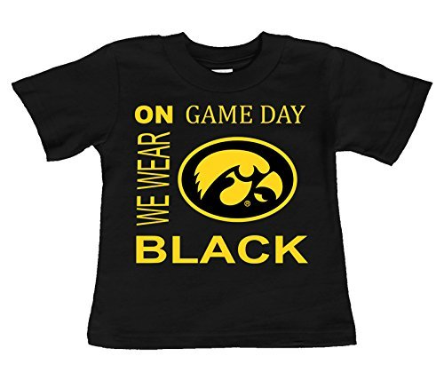 Future Tailgater Iowa Hawkeyes On Game Day Baby/Toddler T-Shirt (6 Months) ()