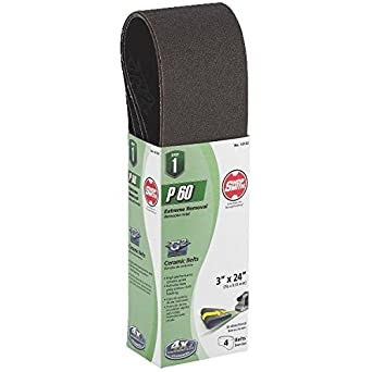 Shopsmith Sanding Belt Ceramic 3 Sander Belts Amazon Com