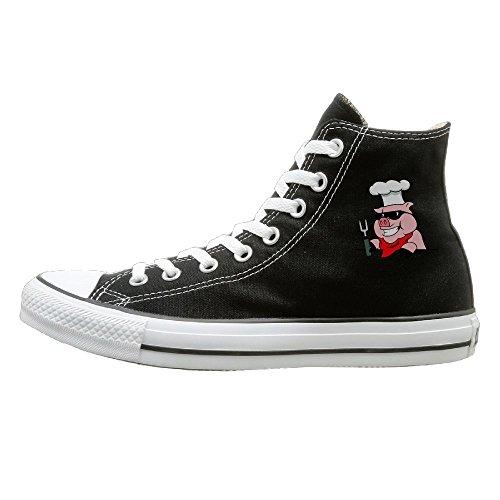 Pig Cheif Unisex Hi-tops Canvas Shoes Unisex Canvas Shoes