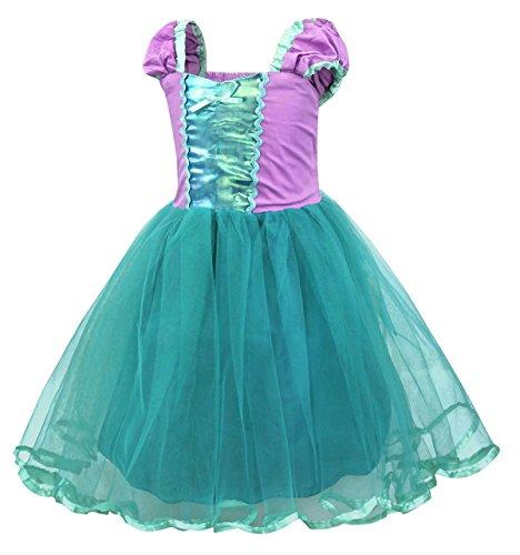 34d380b0b1cc Cotrio Princess Cinderella Mermaid Rapunzel Aurora Belle Dress Up ...