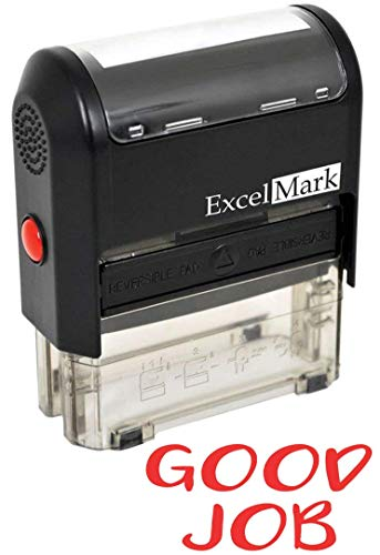 Good Job - ExcelMark Self-Inking Rubber Stamp - A1539 Red Ink