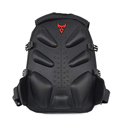 SHZONS Motorcycle Backpack, Motorcycle Helmet Holder Cycling Backpack Motorcycle Bag Waterproof Basketball Football Soccer Travel Backpack