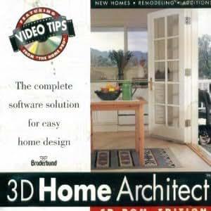 3d home architect the complete software for Broderbund 3d home landscape design