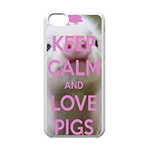 Pig Customized Cover Case for Iphone 5C,custom phone case ygtg698092
