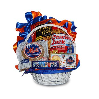 Amazon take me out to the ball game mets themed gift basket take me out to the ball game mets themed gift basket negle Image collections