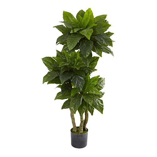 Bird Nest Silk Tree UV Resistant (Indoor/Outdoor) - 5 Feet Tall by NNAT