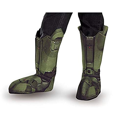 (Disguise Master Chief Adult Boot Covers (12 Pack))