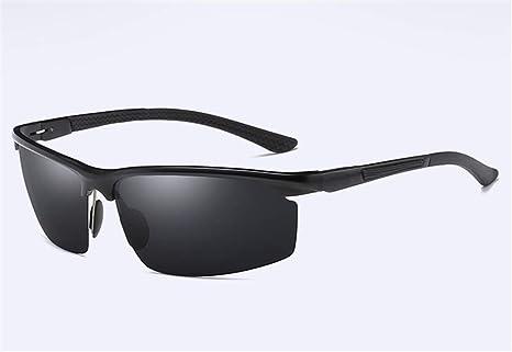 XIYANG Gafas de Sol, Gafas de conducción de Hombres Gafas de Sol polarizadas de Aluminio