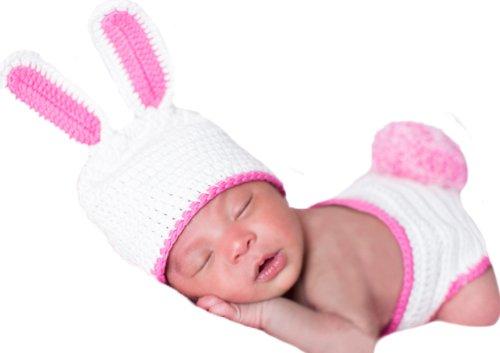 Melon (Childs White Rabbit Hat)