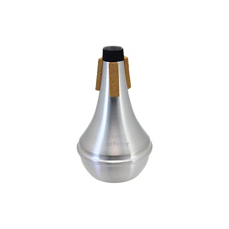 lotfancy-trumpet-straight-mute-aluminum