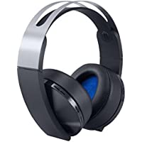 Sony PlayStation 4 Platinum Wireless Headset, Black (PS4)