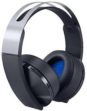 Sony PS4 Platinum Auricular con micrófono - Auriculares con micrófono: Amazon.es: Informática
