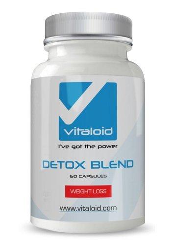 Detox Vitaloid - 60 Cápsulas Detox 100% Natural - Con Aloe Vera, Fibra de