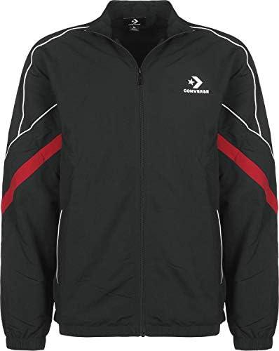 Converse Colorblock Shell Jacket Black - Chaqueta, Hombre, Negro ...