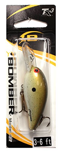 (Bomber Model A Fishing Lure, Root Beer Float, 2 5/8-Inch, 5/16-Ounce)