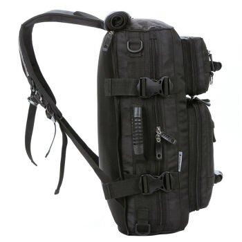 Schulter-Schulter diagonal multifunktionale Taschen Freizeit Taschen Taschen Rucksäcke schwarz 32L