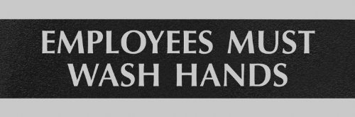 HeadLine Sign Century Employees Silver product image
