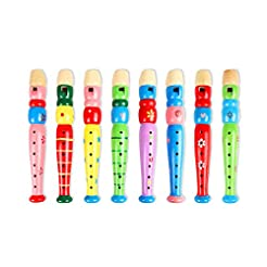 Potelin Wooden Flute Cartoon Flute Woode...