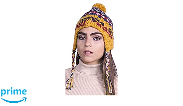 Alpaca Peru-1 Women and Men Knitted Hat Stretchy Beanie Cap