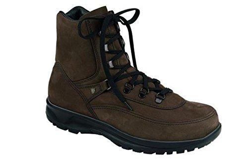 Finn Comfort - Botas de senderismo para mujer, color marrón, talla 45