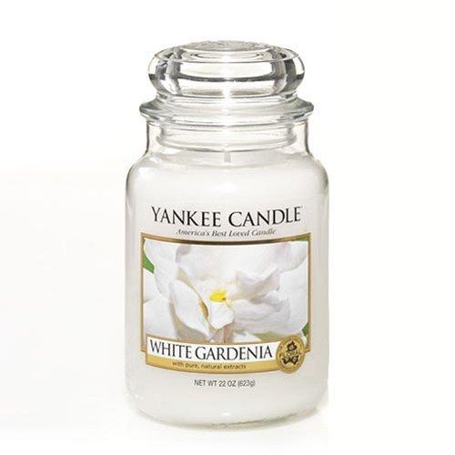 Yankee Candle Company White Gardenia Large Jar