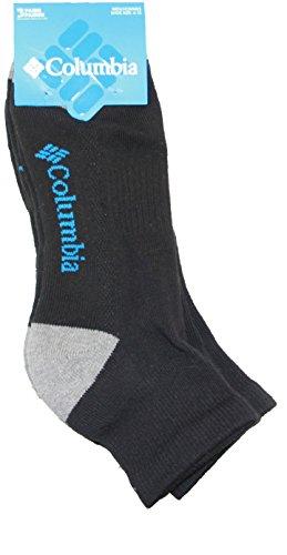 Columbia Sportswear Arch (Columbia Mens 3-pk. Athletic Quarter Crew Socks 10-13 Black)