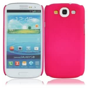 Cell Accessory Net Case for Samsung Galaxy SIII i9300 Rose Red