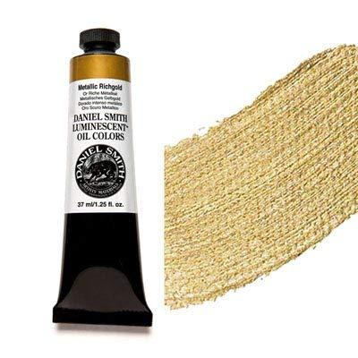 Daniel Smith Extra Fine Oil Colors Tube 37ml Metallic Richgold
