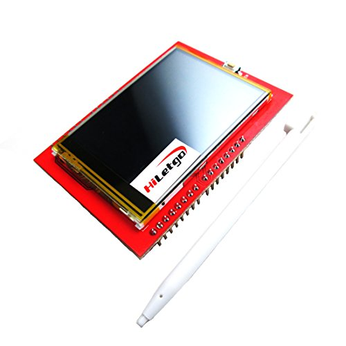 HiLetgo 2.4 Inch TFT LCD Display Shield Touch Panel ILI9341 240X320 for Arduino UNO MEGA