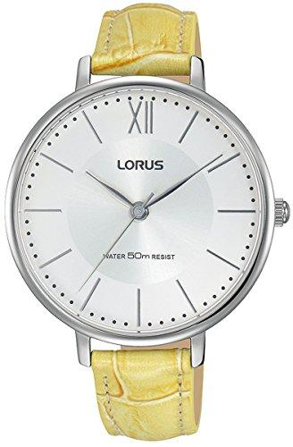 Woman Womens Analog Quartz Watch with Leather Bracelet - Lorus RG277LX9