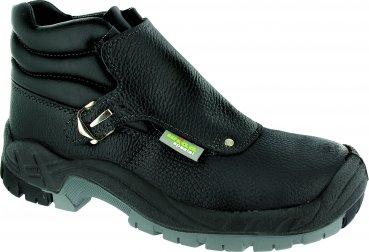 Triuso soldador-botas de dirección S3 - HRO- SRC soldador Botas Zapatos de soldador de trabajo Zapatos Botas: Amazon.es: Amazon.es