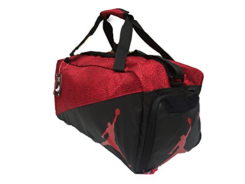 48a24c9516a Amazon.com: Nike Jordan Jumpman Sports Elemental Duffel Bag: Sports &  Outdoors