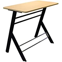 Stand2learn Black Frame Desk with Laminate Fusion Maple Top Grades 3-5 S2LY16B