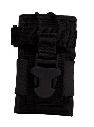- Uncle Mike's Molle Compatable Small Radio/GPS Pouch, Black